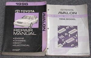 toyota avalon 1996 manual