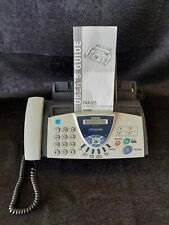 New Listingbrother Fax 575 Personal Fax With Phone And Copier
