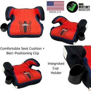 Spider-Man-Booster-Car-Seat-Marvel-Youth-Backless-Seat-Red