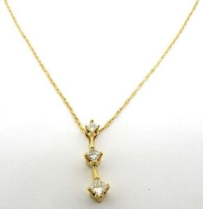 14k yellow gold princess cut diamond past present future pendant image is loading 14k yellow gold princess cut diamond past present mozeypictures Image collections
