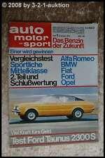 AMS Auto Motor Sport 1/72 Ford Taunus AMG 300 SEL 6.8 BMW 2002