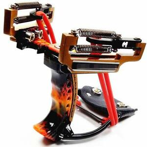 Jagd-Angeln-Slingshot-Catapult-Wrist-Brace-Pro-High-Velocity-leistungsstarke-Gummi