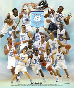 4d940ef92 North Carolina Tar Heels Basketball ROYS BOYS II Roy Williams Era ...