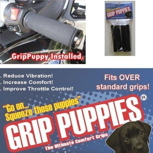 FOR Harley Davidson FLHR ROAD KING 2012 Grip Puppies confort mousse poignées