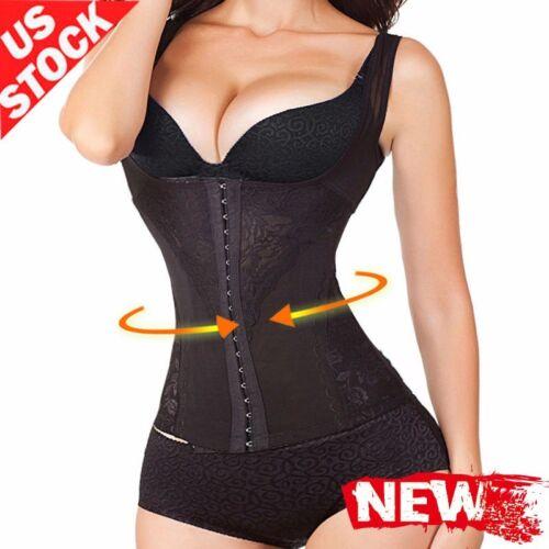 6 Row Hooks Long Torso Body Slim Shapewear Waist Trainer Vest For Weight Loss