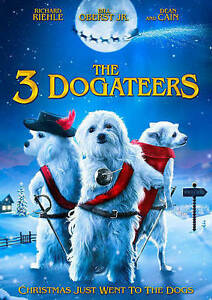 The-Three-Dogateers-2014-Dean-Cain-Richard-Riehle-DVD-Like-New
