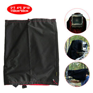 Dark-Cloth-Camera-Wrapping-Focusing-Hood-5x7-4x5-8x10-120-Large-Format-NEW