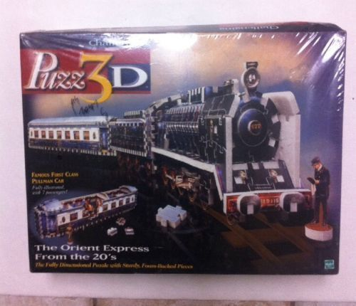 NEW Wrebbit 3-D 1920s Orient Express Train Puzzle Made IN 1998