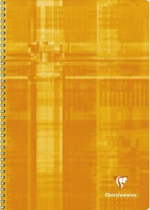 Clairefontaine-180-Page-Wire-bound-Graph-Notebook-12-x-8-25-Assorted-Colors