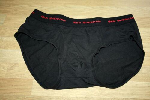 Mens designer Ben sherman Cotton stretch Hipster Brief size  Large
