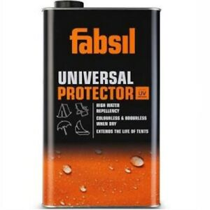 Fabsil Waterproofer Waterproofing Sealant Awning Tent Canvas 5 Litre Grangers UV