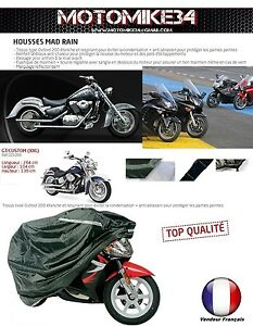 housse bache moto couvre scooter taille xxl 264cm impermeable type oxford 200 ebay. Black Bedroom Furniture Sets. Home Design Ideas