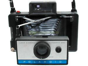 Analogkameras Polaroid Automatik Land Kamera 210