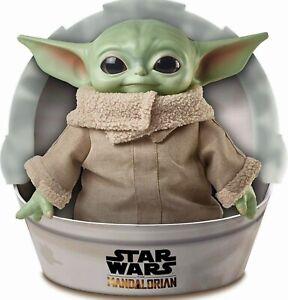 Star-Wars-Mandalorian-The-Child-11-034-Plush-Baby-Yoda-Doll-Disney-Mattel-GWD85