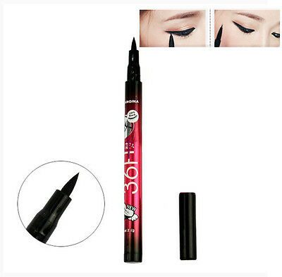 Black Waterproof Eyeliner Liquid Eye Liner Pencil Pen Make Up Beauty Comestics J