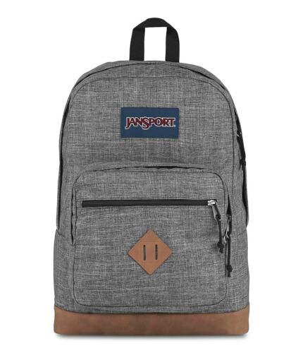 JanSport City View Backpack Heathered 600D JS0A3P3U5B1