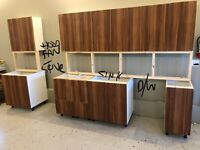 Used Kitchen Cabinets Get A Great Deal On A Cabinet Or Counter In Calgary Kijiji Classifieds