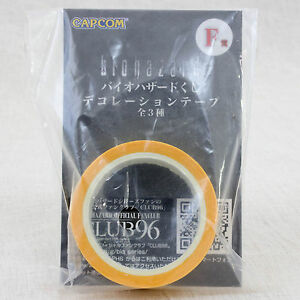 Biohazard-Decoration-Tape-Yellow-Capcom-JAPAN-GAME-RESIDENT-EVIL