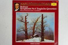 Brahms Sinfonie 4 Tragische Ouvertüre Wiener Philharmoniker Karl Böhm (LP31)