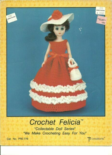 40 Crochet Doll Patterns (Clothing & Accessories) | AllFreeCrochet.com | 640x465