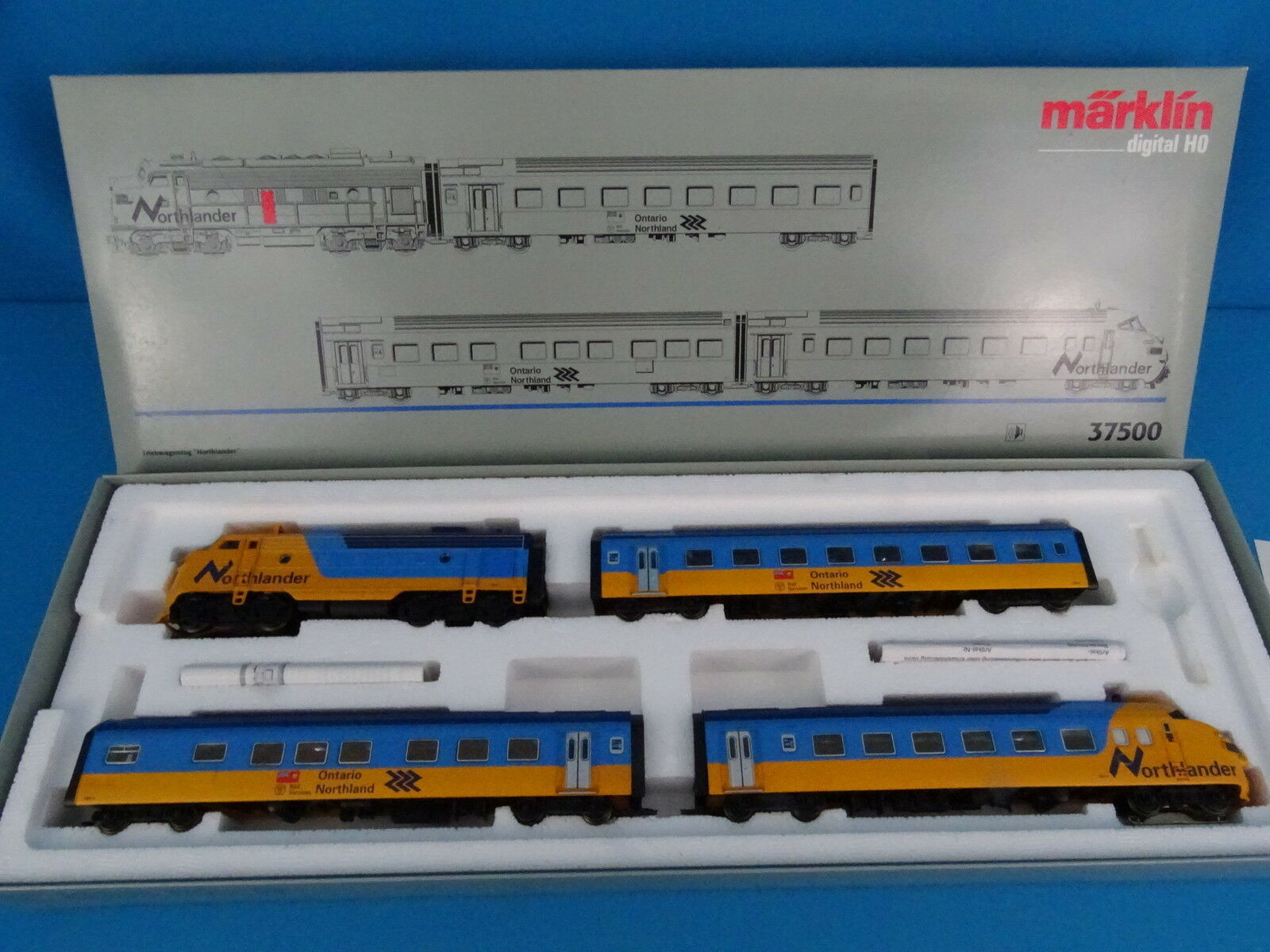 Marklin 37500 Diesel Train Set NORTHLANDER II DIGITAL