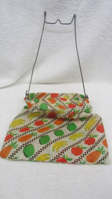 Whimsical Hanging Floral Dress Fully Functional Laundry Clothespin Bag