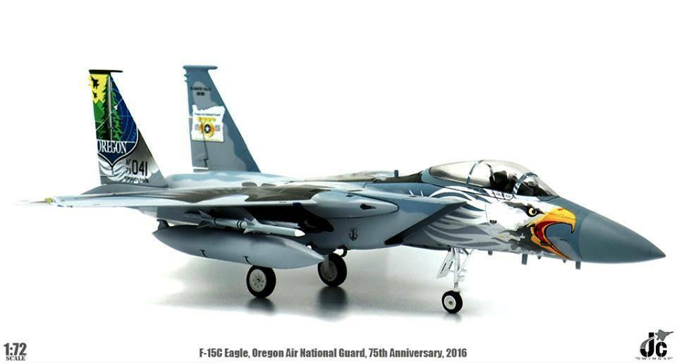 Jc Ailes Jcw72f15003 1 72 F - 15c Aigle 173rd Oregon Air National