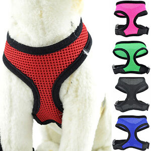 Pet-Cat-Puppy-Dog-Control-Harness-Soft-Mesh-Vest-Walk-Collar-Leash-Strap-Amazing