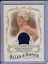 Missy Franklin 2016 Topps Allen & Ginter Relic Card Olympics Gold Medal Swimmer