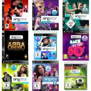 Sony-Playstation-3-PS3-Best-of-SingStar-Zustand-auswaehlbar