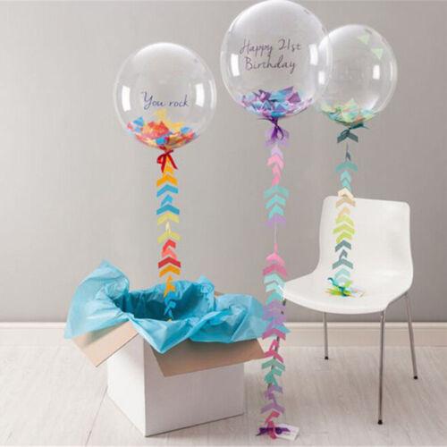 Wedding Birthday Party Sphere Latex Balloons 18 24 36 inch Transparent Balloon
