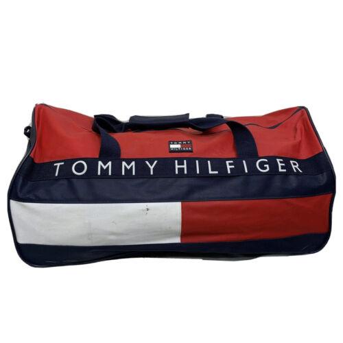 Vintage Tommy Hilfiger Bag Duffle 90s Backpack Fla