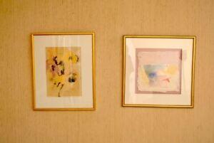 Leanne-Weissler-Original-Artwork-1978-and-1989-Signed-Framed-Art-Decor-NYC
