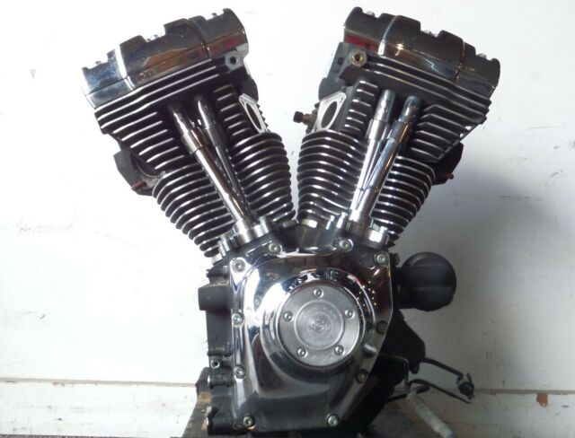 Harley Davidson Road King & Electra Glide & Dyna Black Engine Motor - Tested
