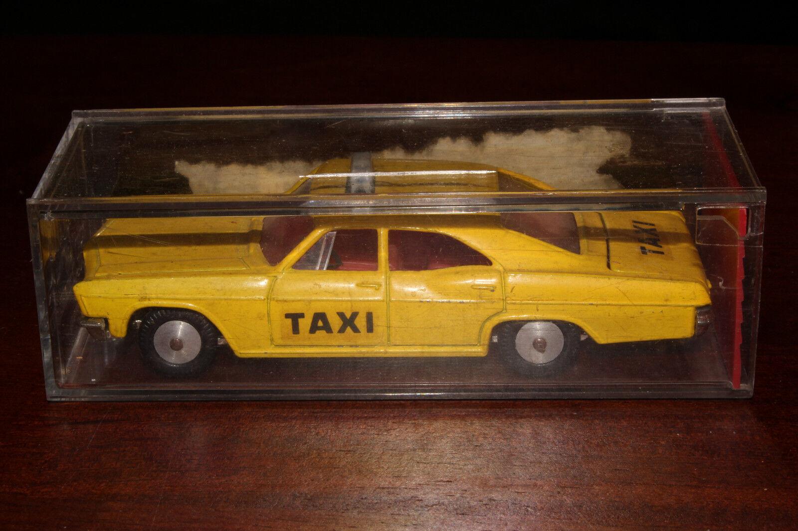 Sabra , Cragstan Metal Fundido, 1965 Chevrolet Impala Taxi, Caja Original