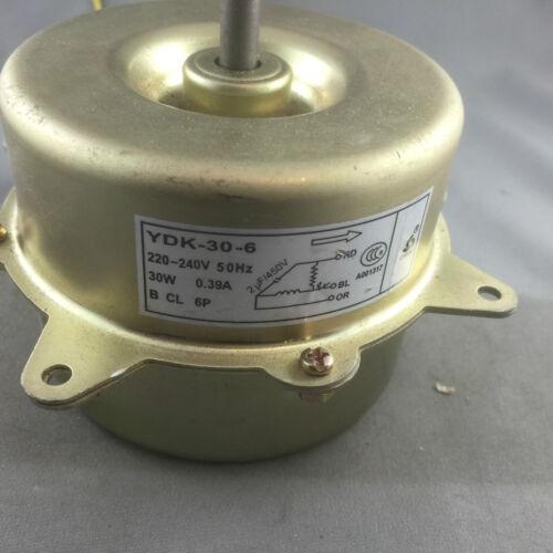 CHIGO BLUWAY IGLOO LAKES AIR CONDITIONER CONDENSER FAN YDK-30-6 OUTDOOR FAN