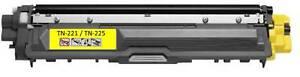 1PK Toner For Brother TN-221 TN-225 TN221 TN225 Yellow HL-3180CDW MFC-9130CW