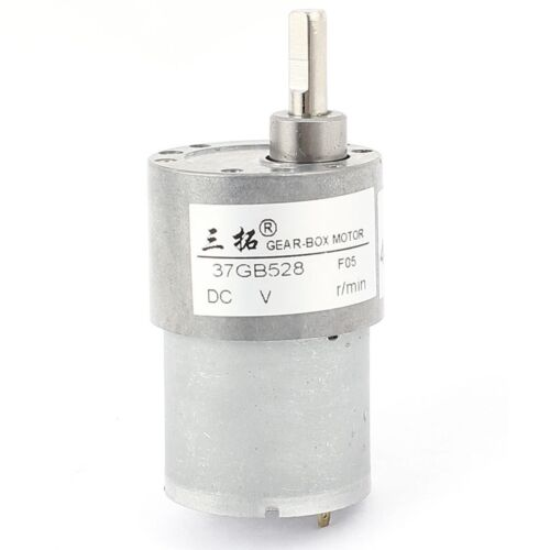 DC 12V 220RPM 0.2A 0.4KG.cm High Torque DC Gear Box Reducer Variable Speed Motor