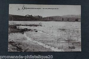 Tarjeta-Postal-Antigua-Charavines-Los-Bains-Un-Esquina-Pintoresca-Del-Lago