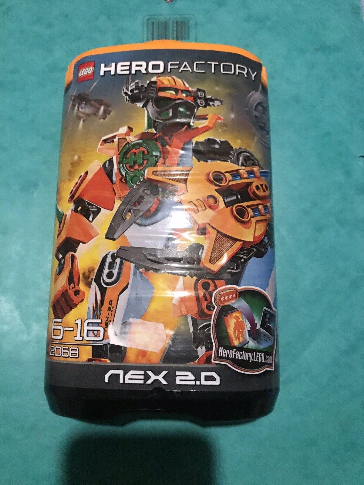 LEGO 2068 Nex 2.0 2011 Hero Factory Hero Rare Retirot Ordeal Of Fire Julius Nex