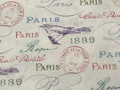 Fabric Paisleys Fiorella QT on Cream Cotton by 1//4 yard