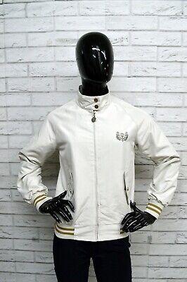 Giubbino Carlsberg Donna Taglia Size S Giacca Giubbotto Jacket Woman Coat Bianco Elegante Nello Stile
