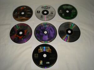 Lot 7 Playstation 1 Games Ps1 Disc Only Rated T M Inc Syphon