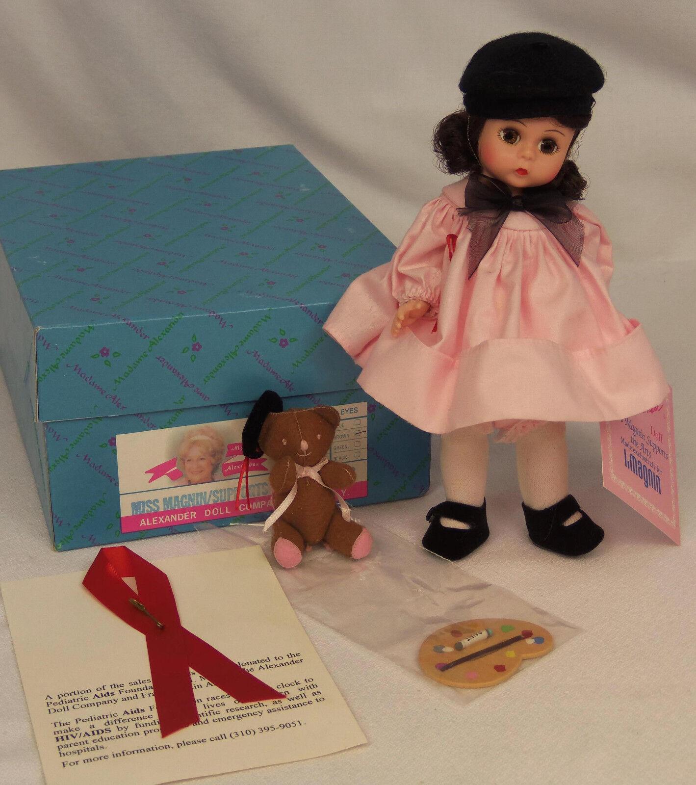 Madame Alexander Kins Miss Magnin es compatible con las artes 69S 8  Wendy Muñeca W Oso en caja como nuevo