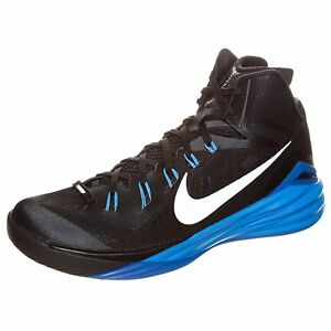size 40 66de6 621f9 Image is loading Nike-Hyperdunk-2014-Men-Basketball-Sneakers-New-Black-