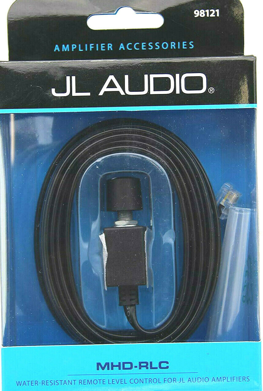 JL AUDIO® MHD-RLC WATER-RESISTANT REMOTE LEVEL CONTROL FOR JL AUDIO AMPLIFIERS