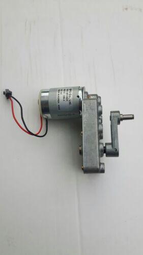 Motoriduttore Dc Motore 6 12V Motore Elettrico con Rimovibile Manovella