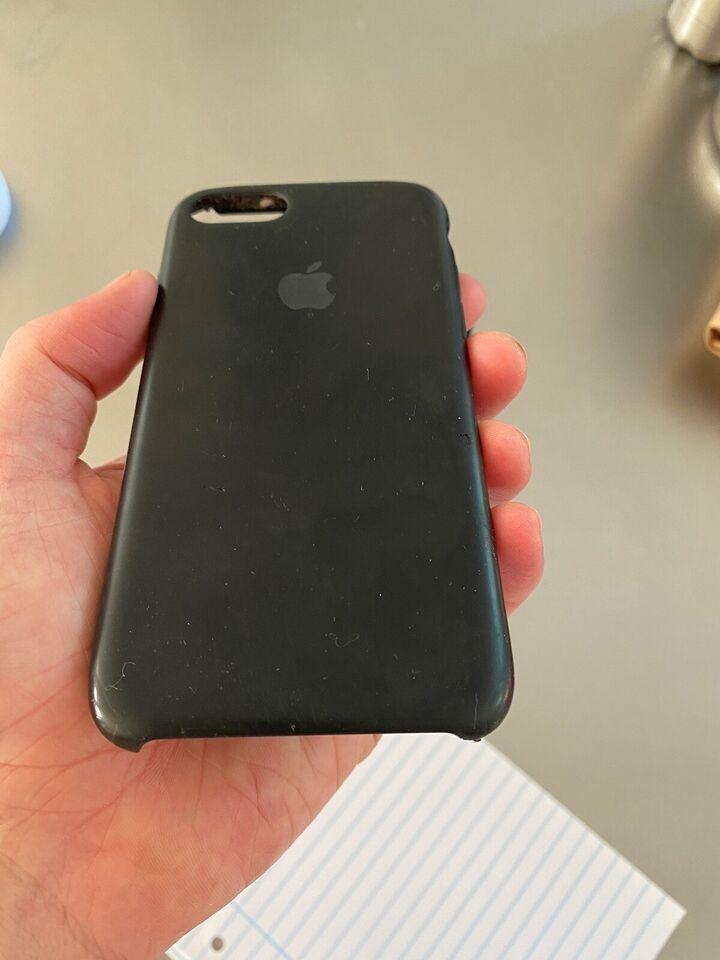 iPhone 7, 128 GB, sort