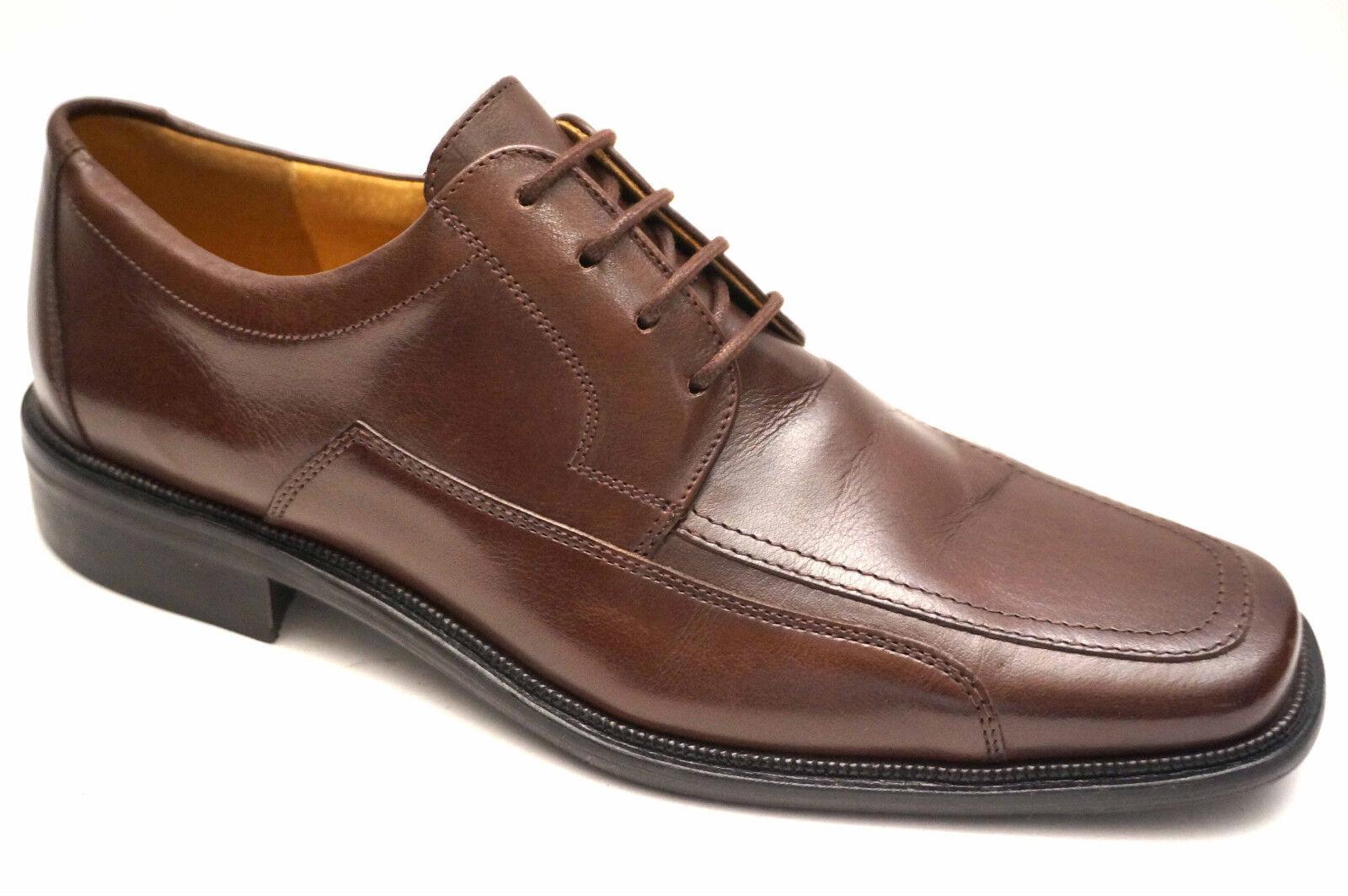 2422# Lord Excelent Leder Schuhe Größe Schnürschuhe 42 (UK 8) Braun Schnürschuhe Größe RAZAN 3529a7