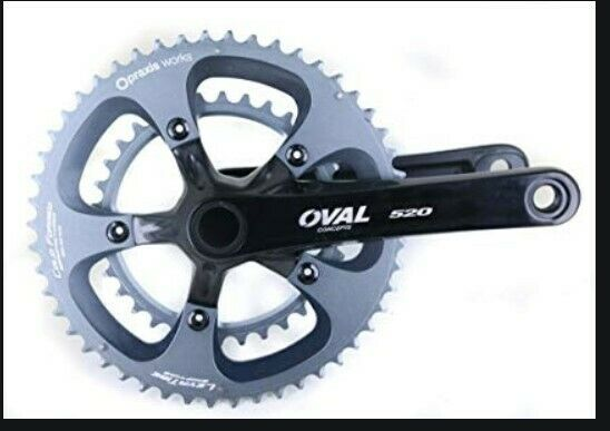 Oval Concepts 520 Guarnitura con PRAXIS INGRANAGGI 5034t 11 velocità velocità velocità 172.5mm GXP c1f